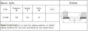 Artifex CE3 polishing wheel