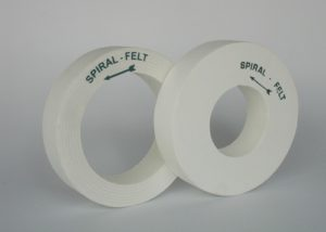 spiral felt wheel